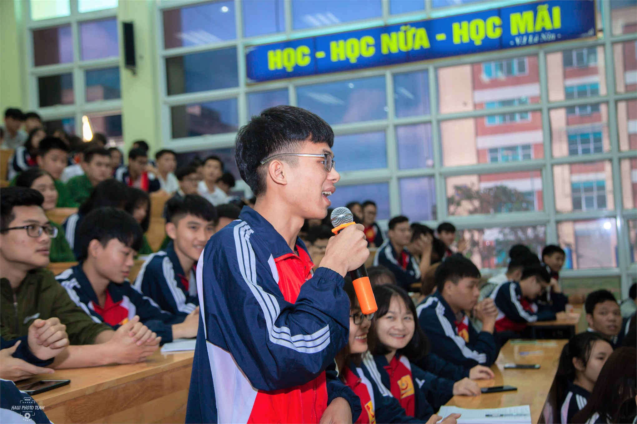 Tập huấn cán bộ lớp hệ Đại học K14 tại cơ sở đào tạo Hà Nam