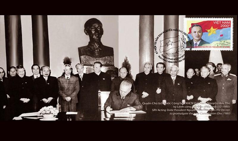 Chủ tịch Nguyễn Hữu Thọ - Tận trung với nước, tận hiếu với dân