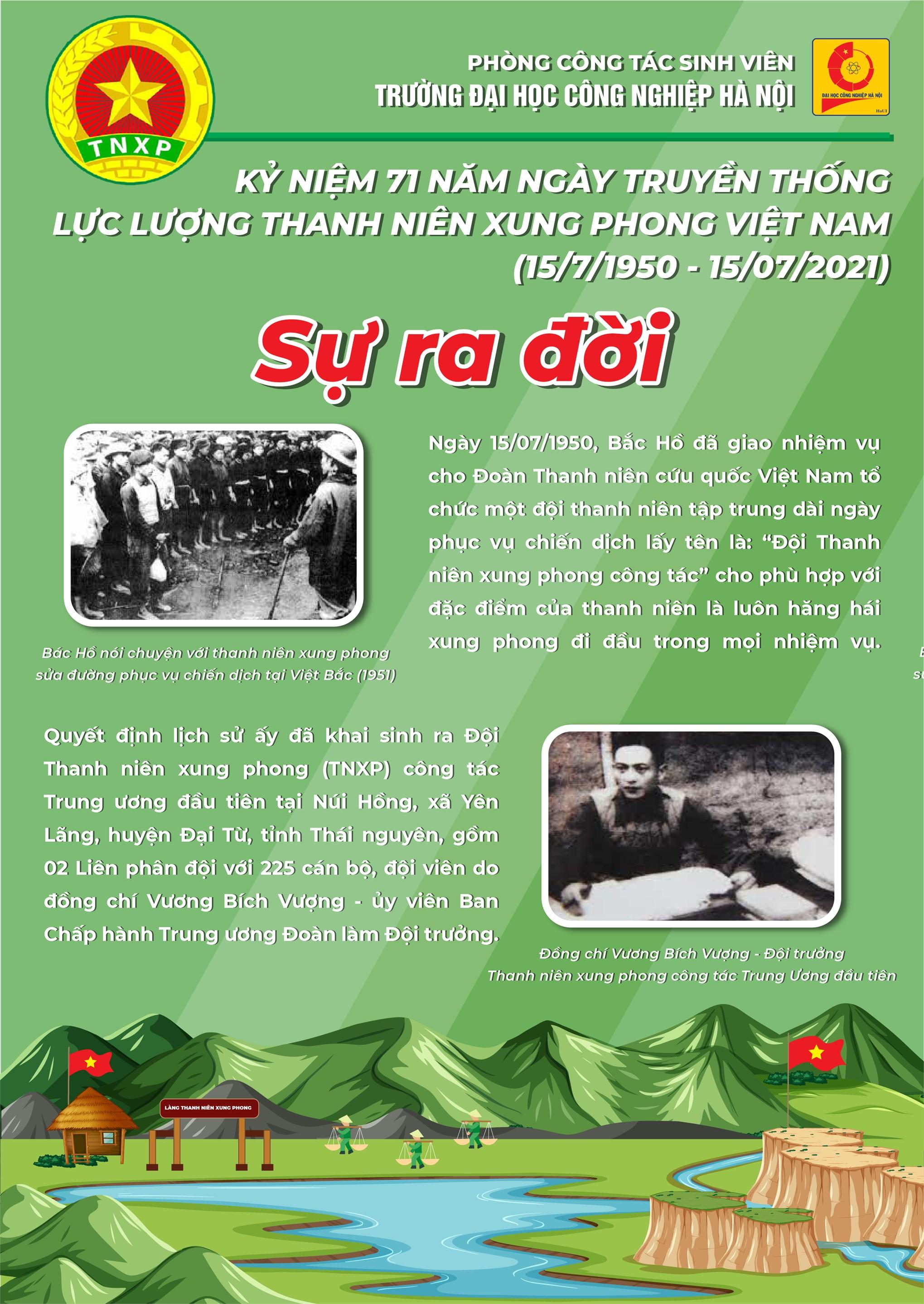 Kỷ niệm 71 năm Ngày truyền thống lực lượng Thanh niên xung phong (15/7/1950-15/7/2021): Sáng mãi tinh thần Thanh niên xung phong