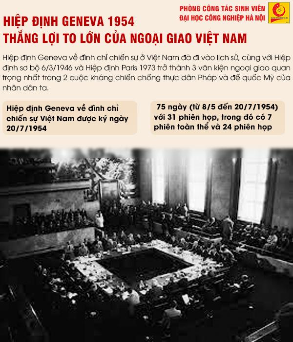 Kỷ niệm 67 năm Ngày ký Hiệp định Geneva: Thắng lợi to lớn của Ngoại giao Việt Nam
