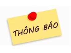 Thông báo về việc ủng hộ Quỹ khuyến học Nguyễn Thanh Bình năm 2018