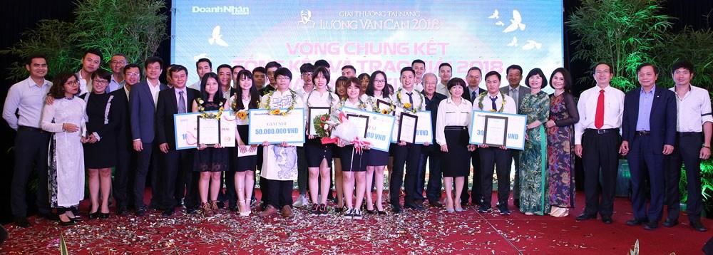 Chung kết Giải thưởng Tài năng Lương Văn Can 2018: Vinh danh Đại học Công nghiệp Hà Nội