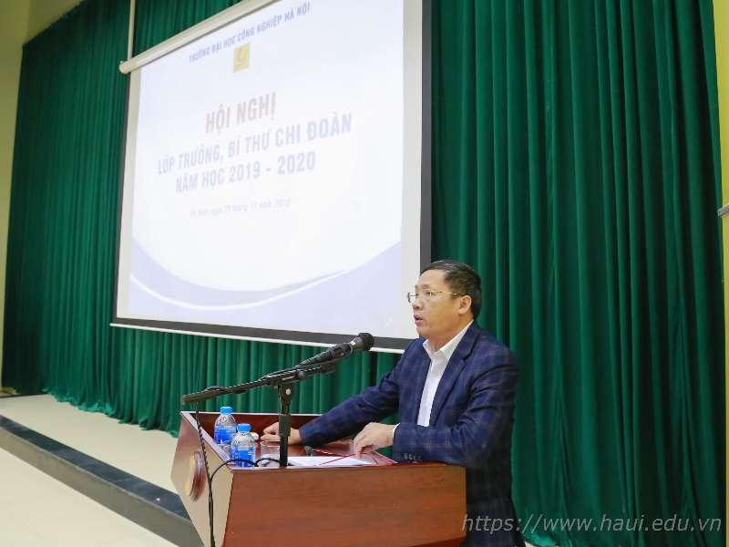 Hội nghị Lớp trưởng, Bí thư Chi đoàn các lớp Đại học K14 tại cơ sở đào tạo Hà Nam năm học 2019 – 2020