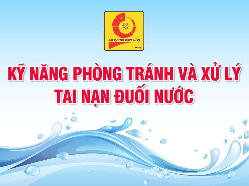 Kỹ năng phòng tránh và xử lý đuối nước