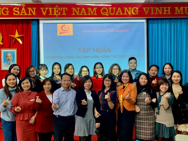 Tập huấn nghiệp vụ công tác sinh viên, công tác chủ nhiệm lớp 2020