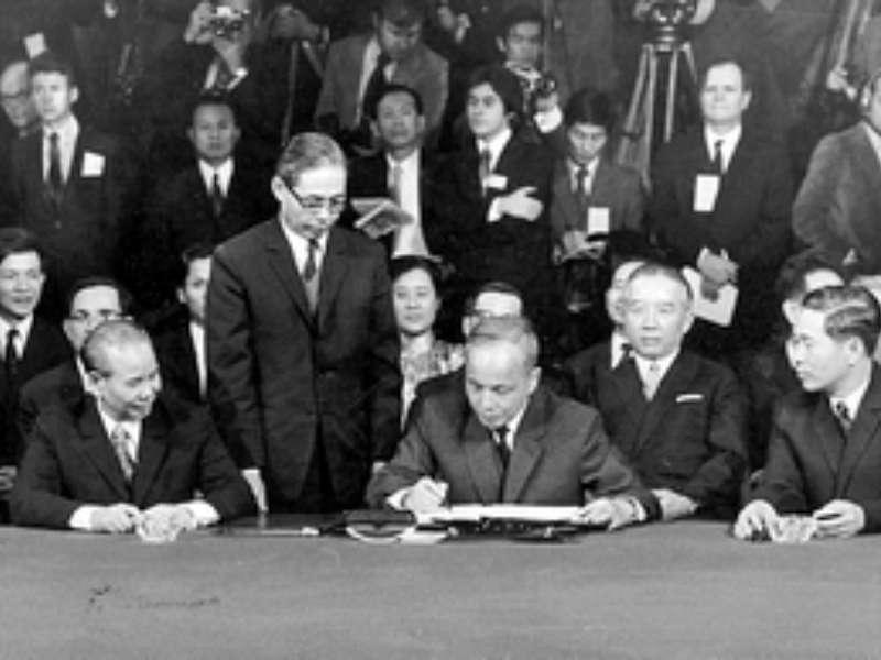 Kỷ niệm 48 năm ngày ký kết Hiệp định Paris (27/01/1973 - 27/01/2021)