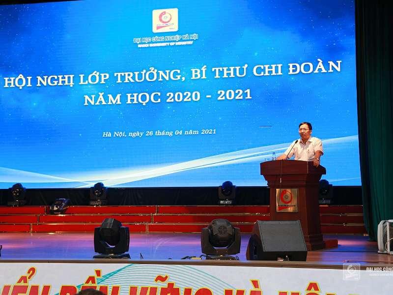 Hội nghị Lớp trưởng, Bí thư Chi đoàn các lớp lần thứ II, năm học 2020 - 2021
