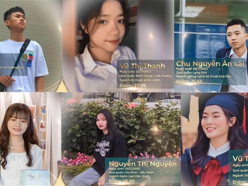 6 gương mặt Thủ khoa đầu vào sở hữu học bổng toàn khóa năm 2021